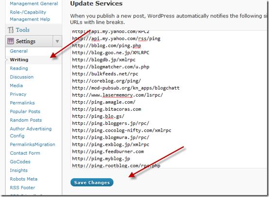 wordpresspingservices